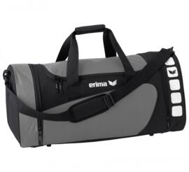 Erima sporttas Club 5 Line grijs/zwart (S)