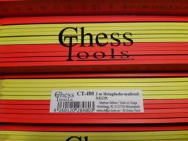 Chess Tools NEON duimstok 2mtr