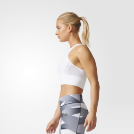 Adidas Warp Knit Crop Top maat M