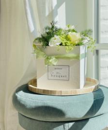 Flower Box L - Pure White