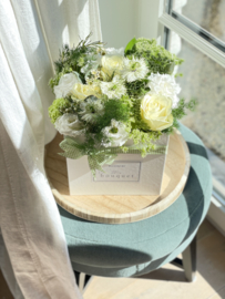 Flower Box L - Pure White