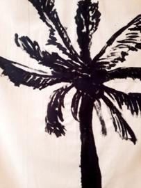 wanddoek palmboom