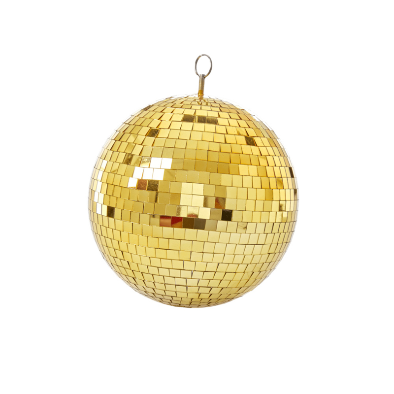 discoball gold