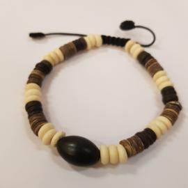 Armbandje Cocosnoot - Kamana Lifestyle
