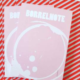 Borrelnote - Notitieblokje A6 - By Bean