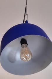 Koningsblauwe hanglamp - LJ Maakt