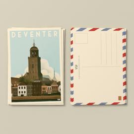 Kaart Deventer | Vintage Stads Posters