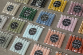Pakje kaarsen | Meerdere kleuren