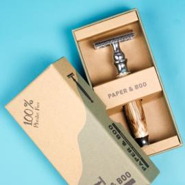 Bamboe veiligheidsscheermes | Paper&Boo
