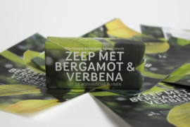 Botanische Tuinenzeep II - bergamot & verbena | Weerfzeep