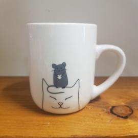 Grote koffie kop - Funnycat