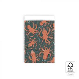 Kadozakjes Octopus (10st) M