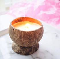 Coconut Candle | We love the planet | geurkaars