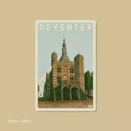 Magneet de Waag | Vintage Stads Posters