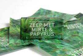 Botanische Tuinenzeep I - mirte & papyrus | Werfzeep