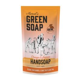Handzeep Navulzak 500 ml | Marcel's Green Soap | Meerdere geuren