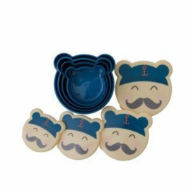 Lunchbakjes Sailor (set4)
