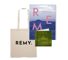 PRE-ORDER Songbook + Tote Bag + CD 'An alternative soundtrack to the motion picture The Red Turtle'
