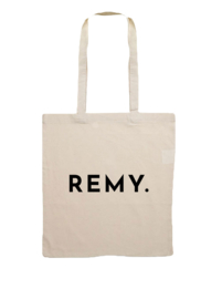 REMY. Cotton Tote Bag
