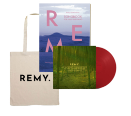 PRE-ORDER Songbook + Tote Bag + LP 'An alternative soundtrack to the motion picture The Red Turtle'