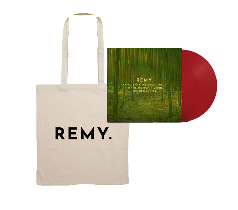 PRE-ORDER Tote Bag + LP 'An alternative soundtrack to the motion picture The Red Turtle'