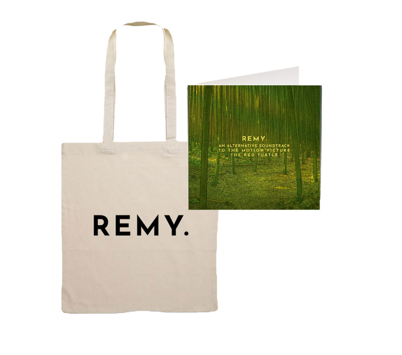 Tote Bag + CD 'An alternative soundtrack to the motion picture The Red Turtle'