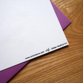 Let's Cellebrate! Feestelijke kaart voor verjaardag, promotie, huwelijk, slagen of een andere feestelijke gebeurtenis!