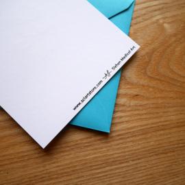 We belung together - hand printed medical greeting card