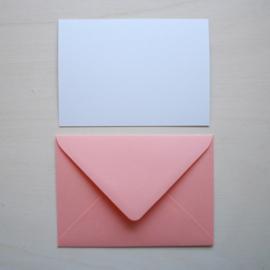 Merel kaart met envelop