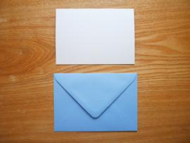 Ekster kaart met envelop