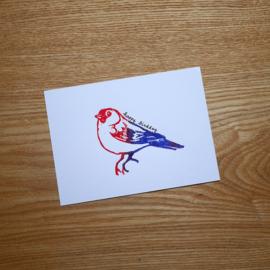 Happy Birdday - verjaardagskaart met pun