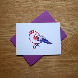 Happy Birdday - Birthday card with pun
