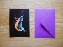 Boomklever kaart met envelop