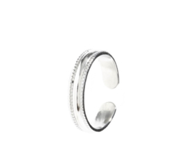 RING STURDY - ZILVER