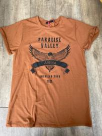 TSHIRT PARADISE VALLEY - CAMEL