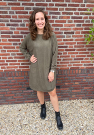 POCKET DRESS - GROEN