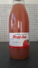 Natuurlijk appel- aardbeiensap 0.75L