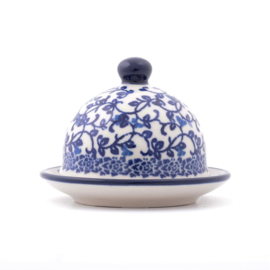 Butter Dish Round small Tender Twigs