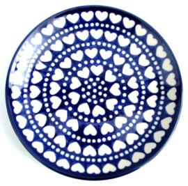 Plate 20 cm Blue Valentine