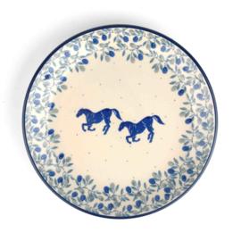 Plate 20 cm  Horse