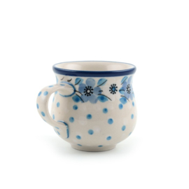 Espresso Farmermug 90 ml Blue White Love