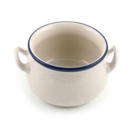 Soup Bowl White Lace