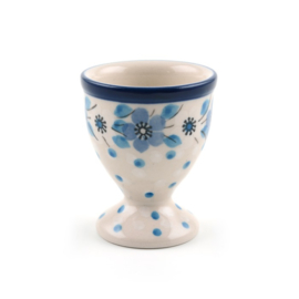 Egg cup eierdopje Blue White Love