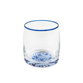Water Glass Indigo Lace 290 ml