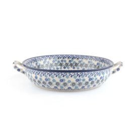 Oven dish round Winter Garden 1980 ml