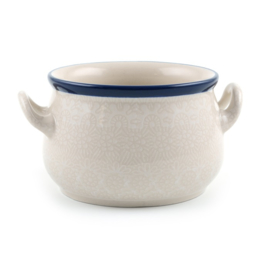 Soup Bowl White Lace