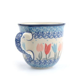 Tulpmok 200 ml koffiekopje Tulip Lovely Pink