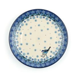 Plate 20 cm Fleur Délicate Bird