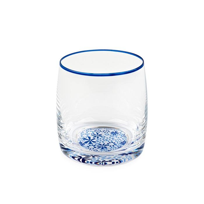 Water Glass Indigo Lace 290 ml