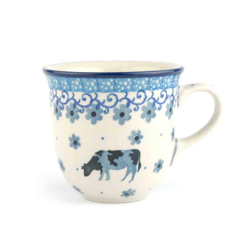 Tulpmok 200 ml koffiekopje Koe Cow
